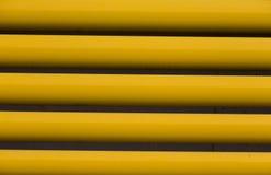 Деталь желтых занавесов Стоковое Изображение RF