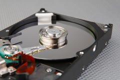 Деталь жесткого диска компьютера Стоковая Фотография RF