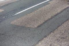 Деталь заасфальтированной дороги стоковое фото rf