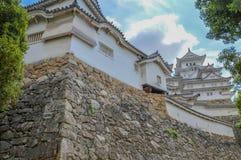 Деталь замка Японии Himeji стоковые фотографии rf