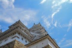 Деталь замка Японии Himeji стоковые фото