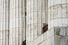 деталь здания суда колонок Стоковое фото RF
