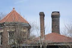 Деталь здания управлением замка 19 Стоковая Фотография