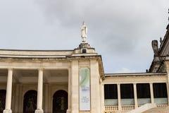 Деталь изображения Святого в Фатиме, Португалии стоковые фотографии rf