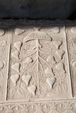 Деталь искусства тахты мраморная высекая Стоковое Фото
