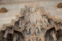 Деталь искусства тахты мраморная высекая Стоковое Изображение RF