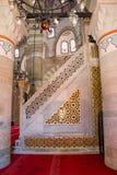 Деталь искусства тахты мраморная высекая Стоковое Изображение