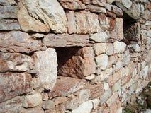 Деталь каменной стены Стоковые Изображения