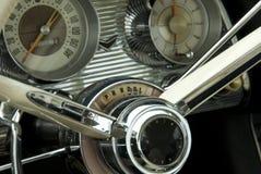 Деталь классицистического автомобиля стоковое фото