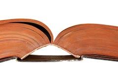 деталь книги старая Стоковое Изображение
