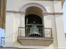Деталь колокола в башне церков Стоковое Изображение