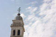 Деталь колокольни в Венеции Италии Италии Стоковые Изображения RF
