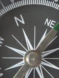 деталь компаса крупного плана Стоковое Изображение