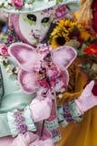 Деталь костюма - масленица 2013 Анси венецианская Стоковое Фото