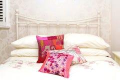 деталь кровати ретро Стоковое Изображение