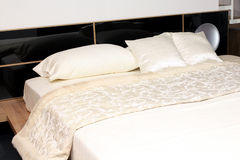 деталь кровати Стоковое Фото