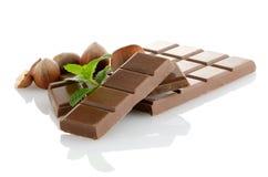 Деталь крупного плана шоколада стоковые фотографии rf