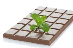 Деталь крупного плана шоколада стоковые изображения rf