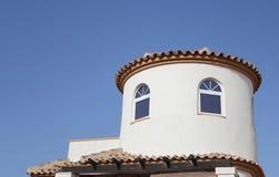 Деталь крыши виллы Стоковая Фотография