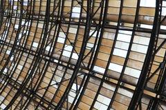 деталь крышки вокзала Праги стоковые фотографии rf