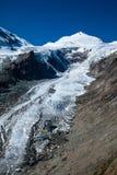 Деталь ледника Pasterze на ноге Grossglockner в Австрии Стоковые Изображения RF