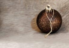 Деталь макроса нескольких шариков рождества стоковая фотография rf
