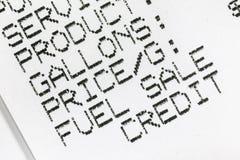 Деталь макроса получения бумаги топлива бензина стоковое фото rf