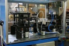 Деталь машинного оборудования в фабрике диктора Стоковое фото RF