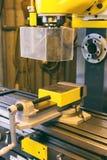 Деталь машины токарного станка Стоковое Изображение