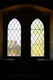 Деталь некоторых старых окон Стоковая Фотография RF