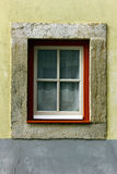 Деталь некоторых старых окон Стоковое Фото