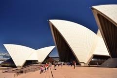 Деталь оперного театра, Австралия, Сидней стоковое изображение rf