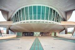 Деталь оперного театра в Валенсии, Испании стоковые изображения rf