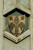 Деталь от собора Santa Maria del Fiore в Флоренсе Стоковая Фотография RF