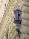 Деталь от rusticated фасада Palazzo Strozzi в Флоренсе, архитектором Michelozzo Michelozzi 1396-1472, Италия, пятнадцатое стоковое изображение