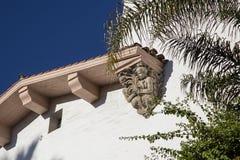 Деталь песчаника здания суда Santa Barbara County Стоковое фото RF