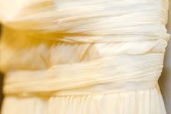 Деталь платья венчания Стоковая Фотография RF