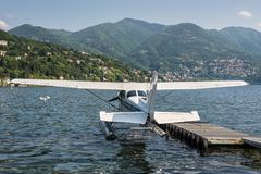 Деталь полуглиссера, фото принятое в Como, город на озере внутри Стоковое Фото