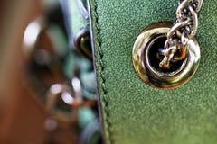 Деталь портмона женщины аксессуаров моды Стоковые Изображения RF