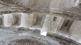 Деталь потолка в Колизее на Arles Фрэнсисе стоковые изображения
