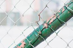 Деталь проволочной изгороди Стоковые Изображения