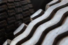 Деталь профиля шины стоковое фото rf