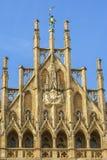 Деталь ратуши Мюнхена стоковая фотография rf