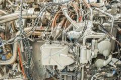 Деталь реактивного двигателя стоковые фотографии rf