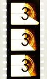 Деталь руководителя прокладки фильма комплекса предпусковых операций кино стоковые фотографии rf
