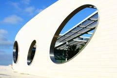 Деталь самомоднейшего здания на Лиссабоне Стоковая Фотография RF