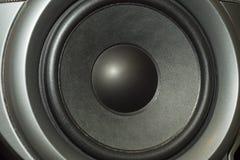 Деталь снятая некоторых старых круглых дикторов Стоковые Фотографии RF