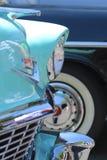 Деталь снятая от винтажной выставки автомобиля Стоковые Фото