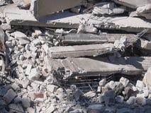 деталь сокрушенная зданием Стоковые Фотографии RF