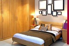 деталь спальни Стоковые Фотографии RF